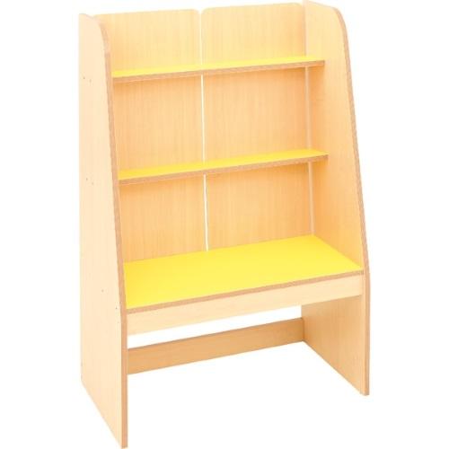 Bücherregal gelb