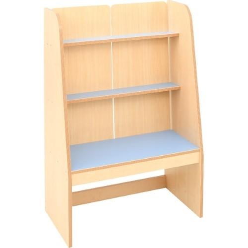 Bücherregal hellblau