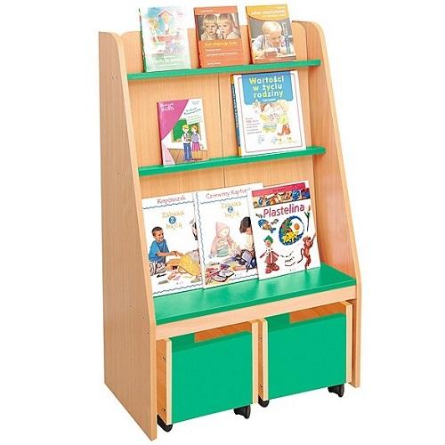Bücherregal grün