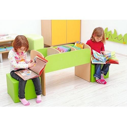 Sitz für Bücherregal Premium