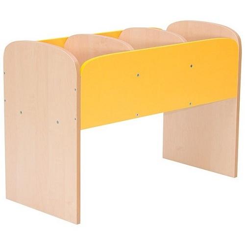 Bücherregal Premium gelb