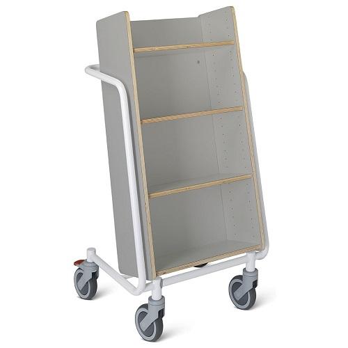 Bücherwagen Örestad Plus grau