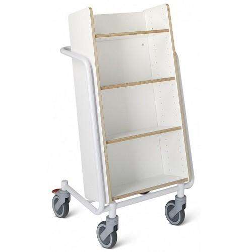 Bücherwagen Örestad Plus weiß
