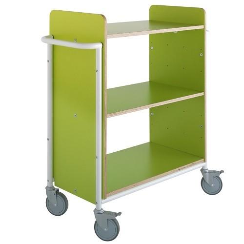 Bücherwagen Ven Plus limone