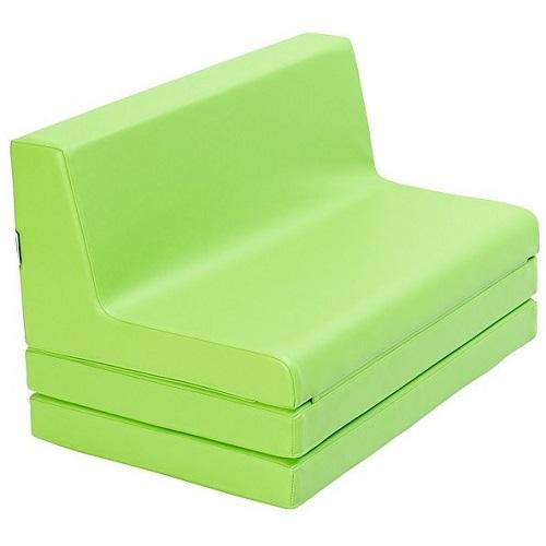 Klappbare Sitzbank grün