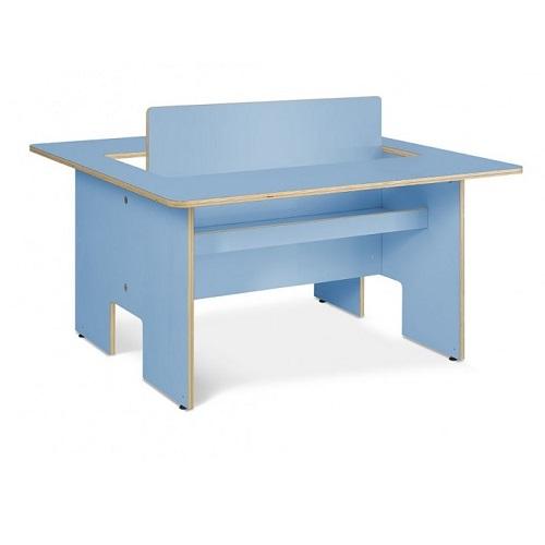 Kindertisch Plus blau