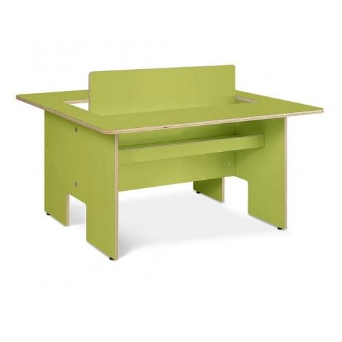 Kindertisch Plus grün