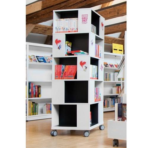 Labyrint Bücherturm schwarz