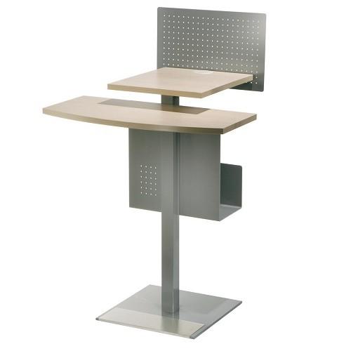 Stehpult OPAC mit Rechnerkonsole