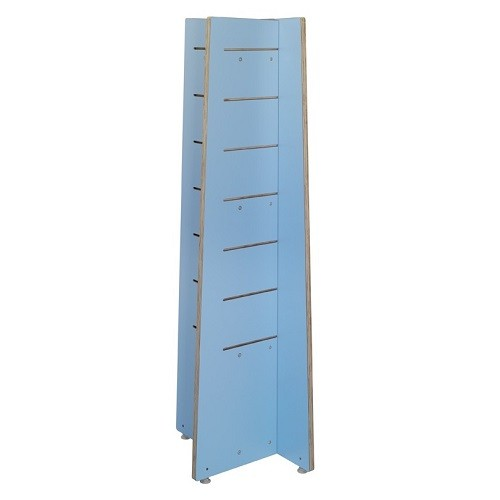 Quattro Plus Präsentationsturm blau