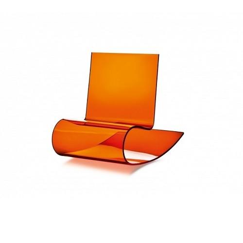 Präsentationsständer Schaukel orange