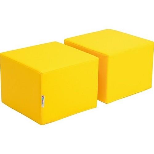 Sitz für Bücherregal Premium gelb