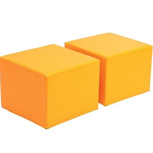 Sitz für Bücherregal Premium orange