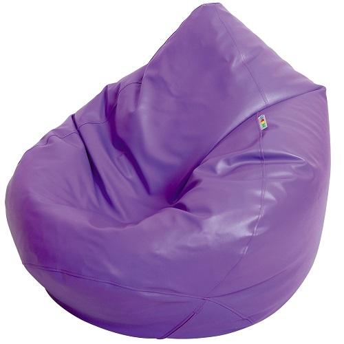 Sitzsack Birne violett