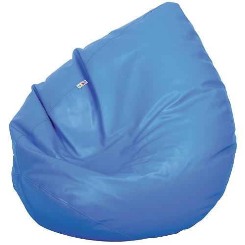 Sitzsack Birne blau