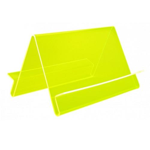 Präsentationsständer Wave doppelseitig limone