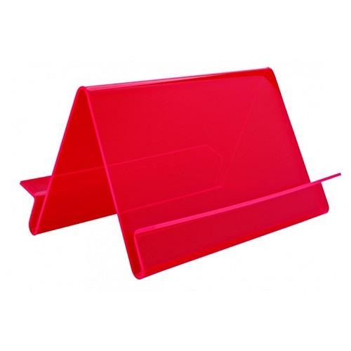 Präsentationsständer Wave doppelseitig rot