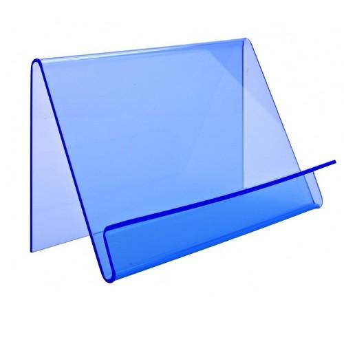 Präsentationsständer Wave einseitig blau