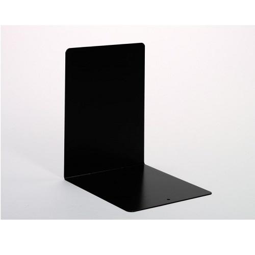 Buchstützen aus Metall schwarz