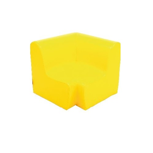 Ecksitz gelb