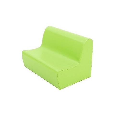 Sitzbank aus Schaumstoff grün