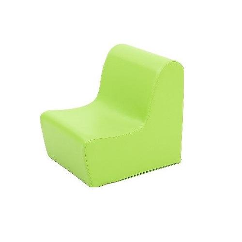 Sitz aus Schaumstoff grün