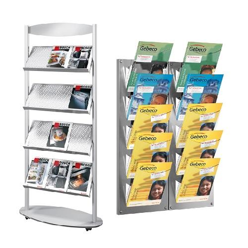 Prospekt- und Zeitschriftenständer