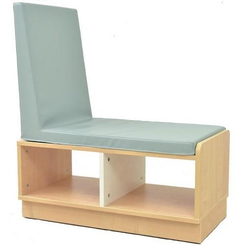 Schrank mit Sitzbank