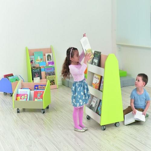 Bücherregal zweiseitig
