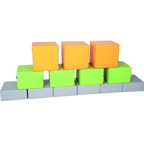 Schaumstoffbaustein Set grün