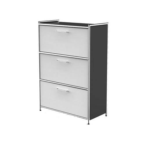 Highboard Artline weiß anthrazit