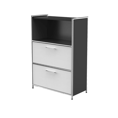 Highboard Artline anthrazit weiß
