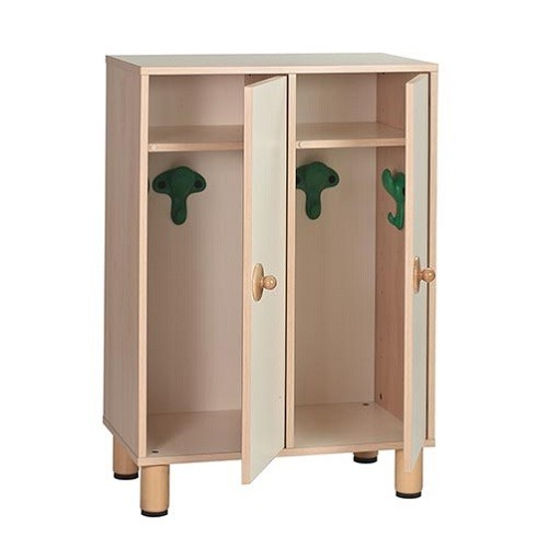 Garderobenschrank mit Türen Tisch Gonzagarredi Montessori