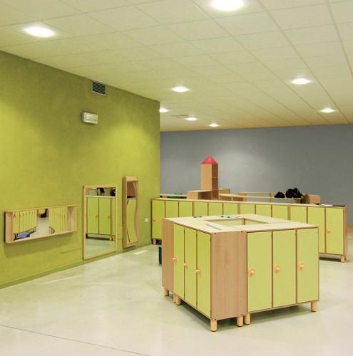 Garderobenschrank mit Türen Gonzagarredi Montessori