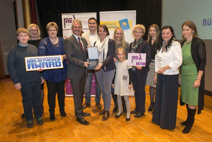 NÖ Bibliotheken Award 2017 - 2