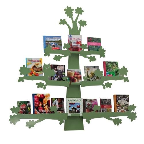 Bücherdisplay Baum grün