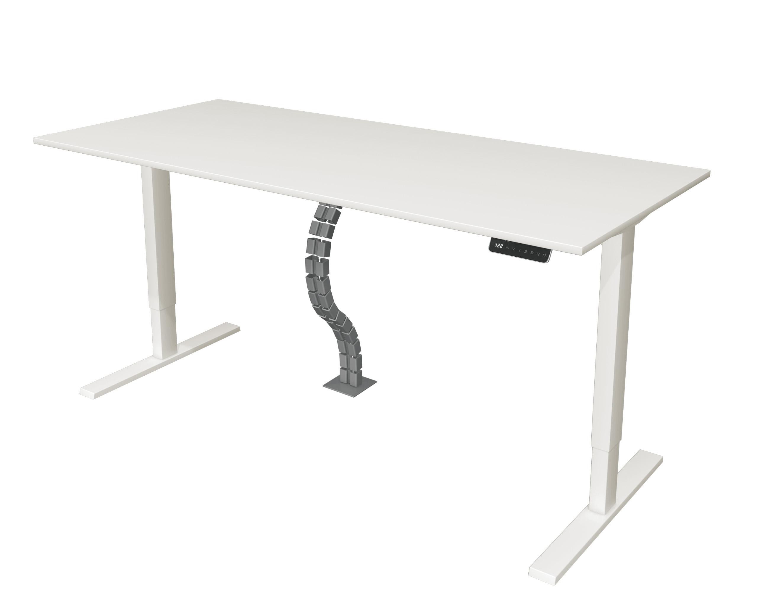 Vertikale Kabelführung für höhenverstellbaren Schreibtisch Move